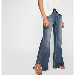 Free People Brand New Vintage Flare Jeans